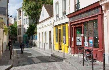En un rincón de la calle Belleville, nació Edith Piaf, en 1915. Crédito: web parisinfo.com