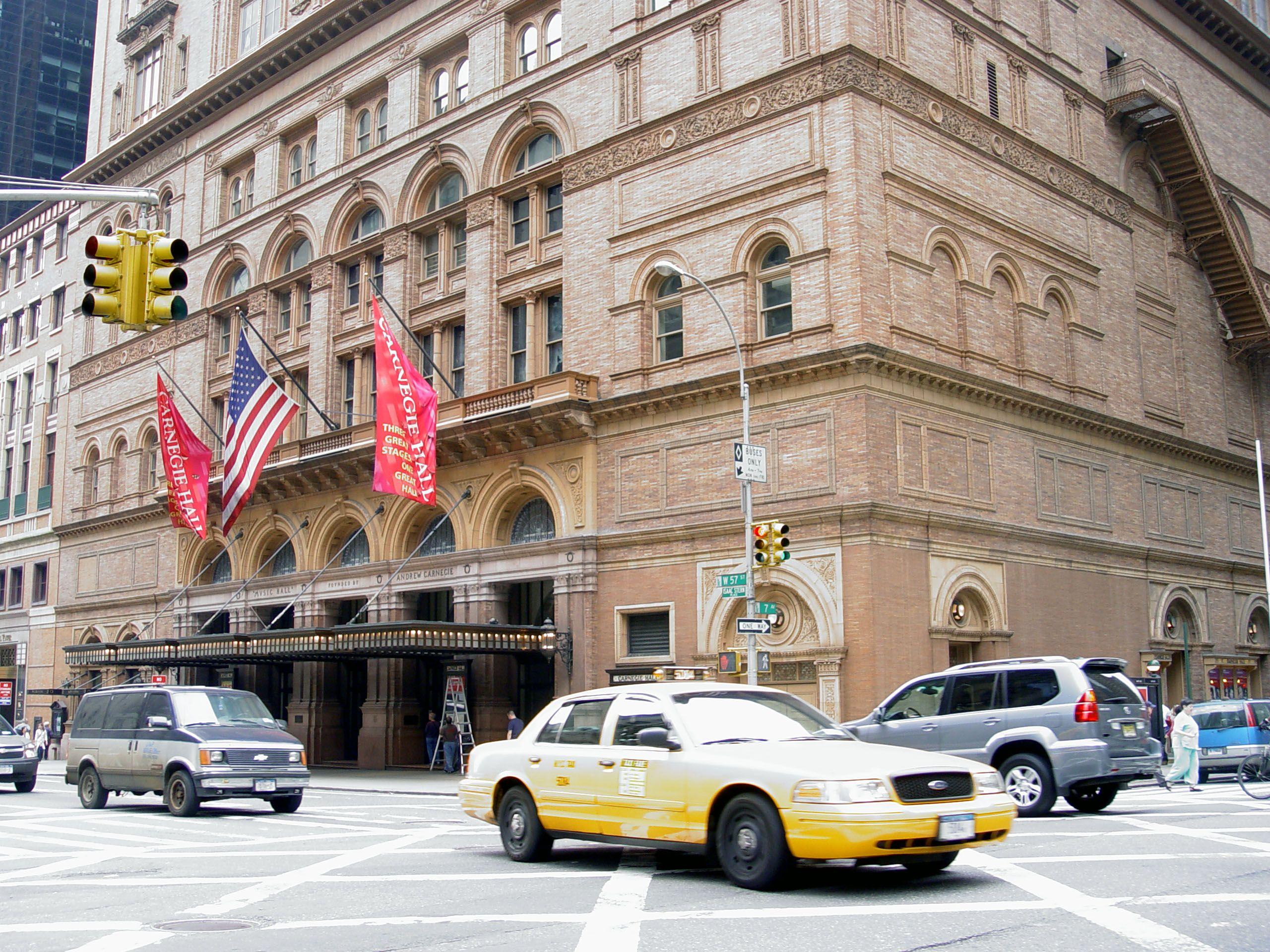 El Carnegie Hall de Nueva York. Crédito: Creative Commons. Martin Dürrschnabel.