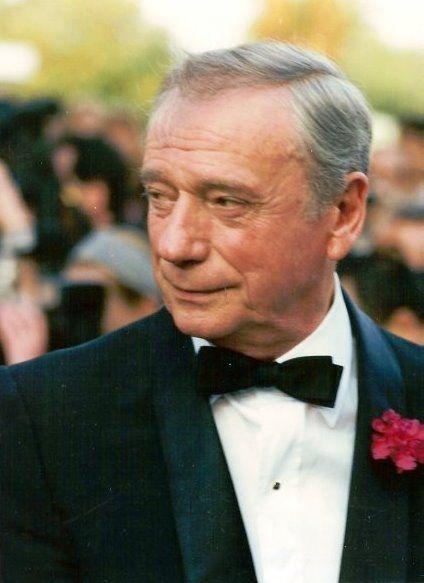 Yves Montand en el festival de Cannes, en 1987. Crédito: Wikimedia. George Biard.