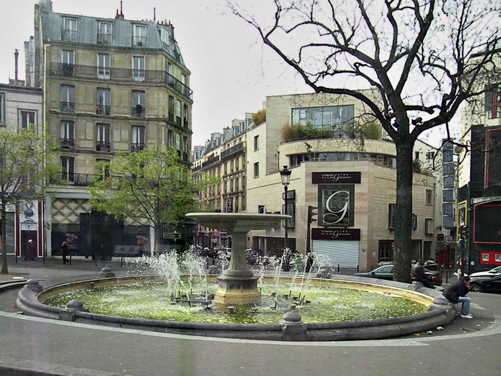 Vista de la Place Pigalle de París, en 2009. Crédito: Wikimedia. Vitold Muratov.