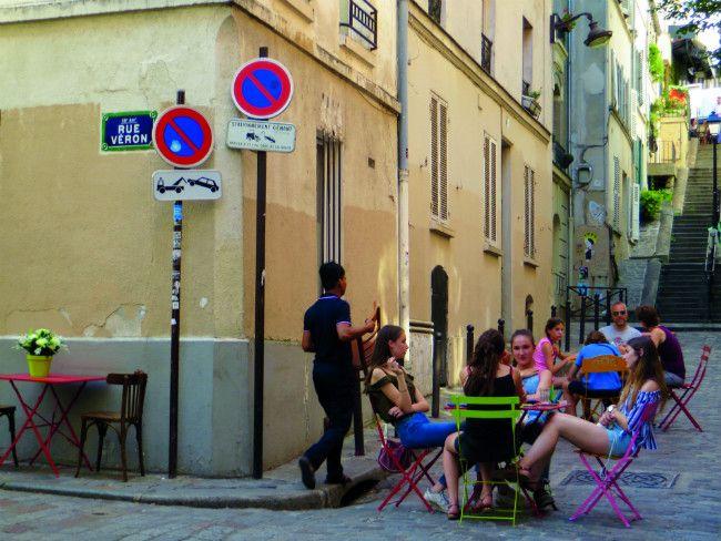 La calle Veron, en Montmartre. Crédito: web francetoday.com