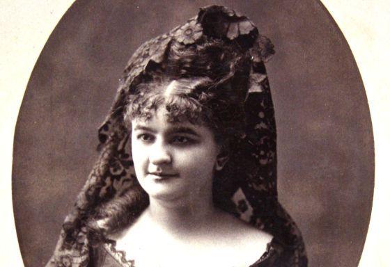 Emilia Pardo Bazán, cuando tenía 13 años. Crédito: Silvia Hernando. web elpais.com