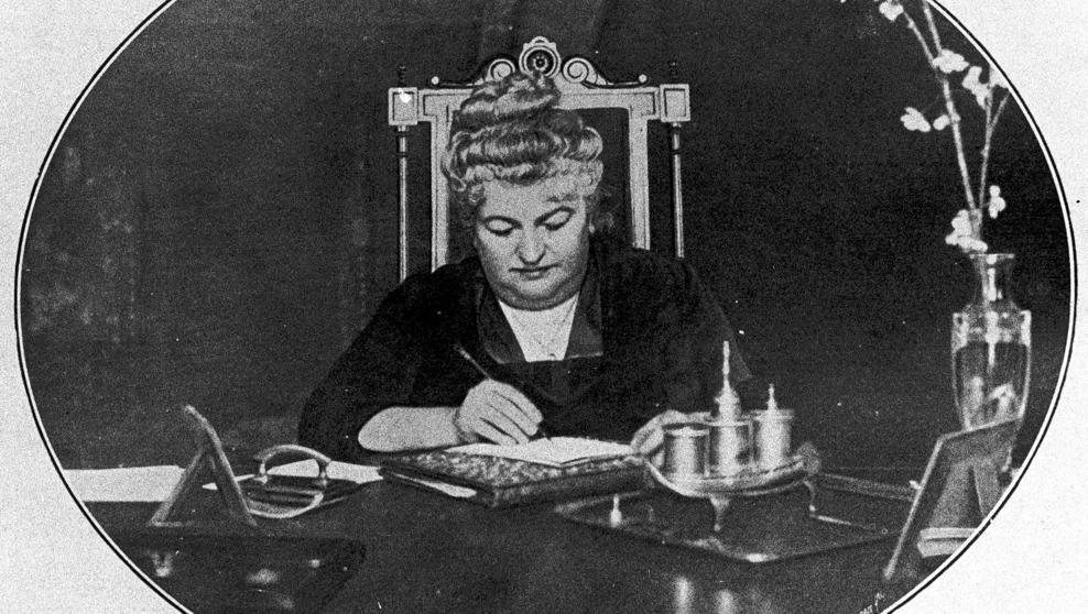 Emilia Pardo Bazán, escritora infatigable. Imagen publicada en el 166º aniversario de su nacimiento.Crédito: Archivo de la web de lavanguardia.com