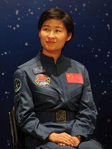 Liu Yang primera mujer china que viajó al espacio exterior. Crédito: Wikipedia
