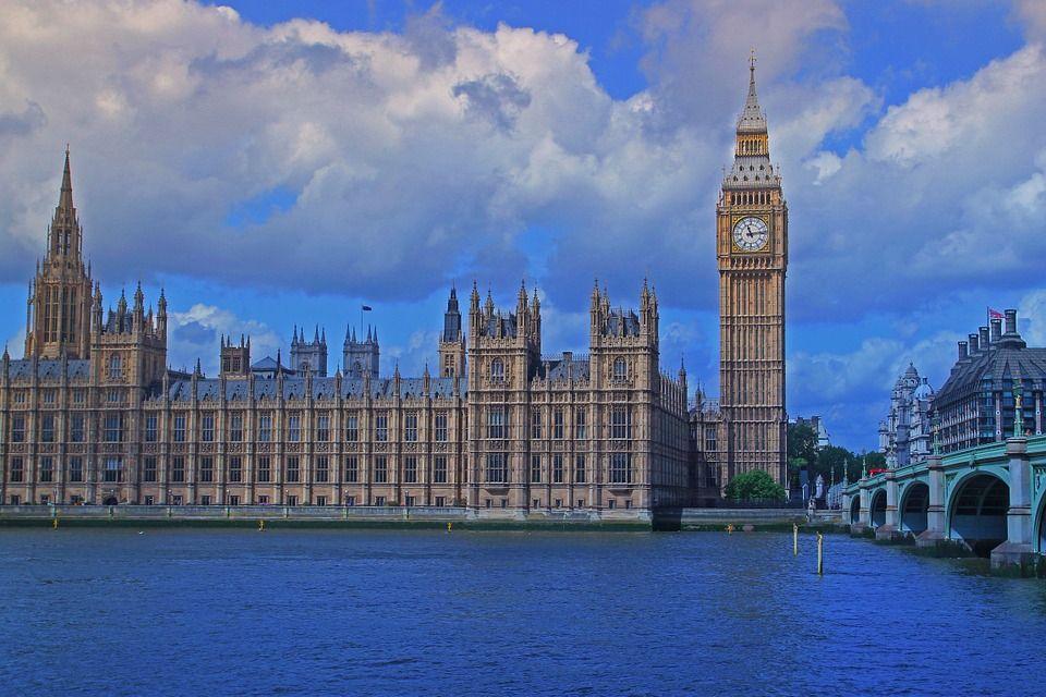 Edificio del Parlamento en Londres, Marcela habrá contemplado muchas veces el Big Ben. Crédito: Pixabay