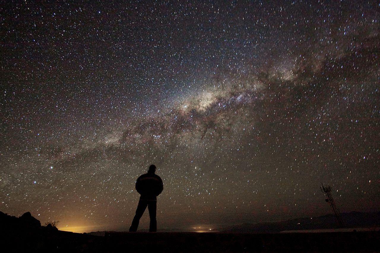 Auto retrato del astrónomo Alan Fitzsimmons, el 13 de mayo de 2013. Crédito: ESO /A