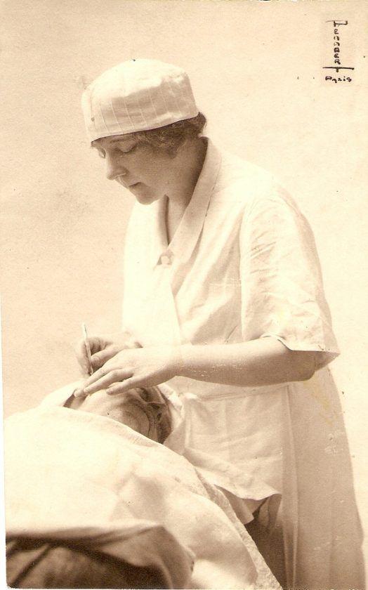 Suzanne Noël. Imagen guardada por el Club Soroptimist Internacional. Crédito: Club de la Rochelle, Francia.