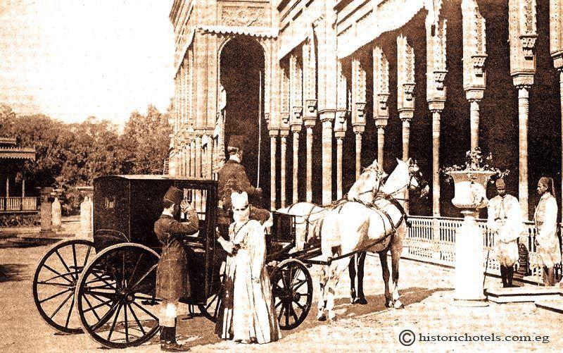 Aquí alojó Agatha Christie y también la emperatriz Eugenia de Montijo. Crédito: web historichotels.com.eg