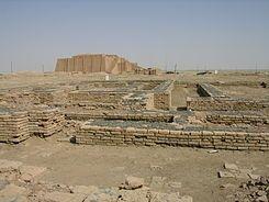 Estas ruinas están a 24 km de Nasiriya, en Irak. Crédito: Wikipedia