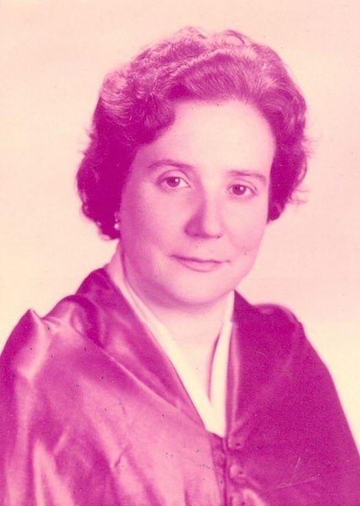 Antonia Ferrín Moreiras, astrónoma gallega. Crédito: web alchetron.com