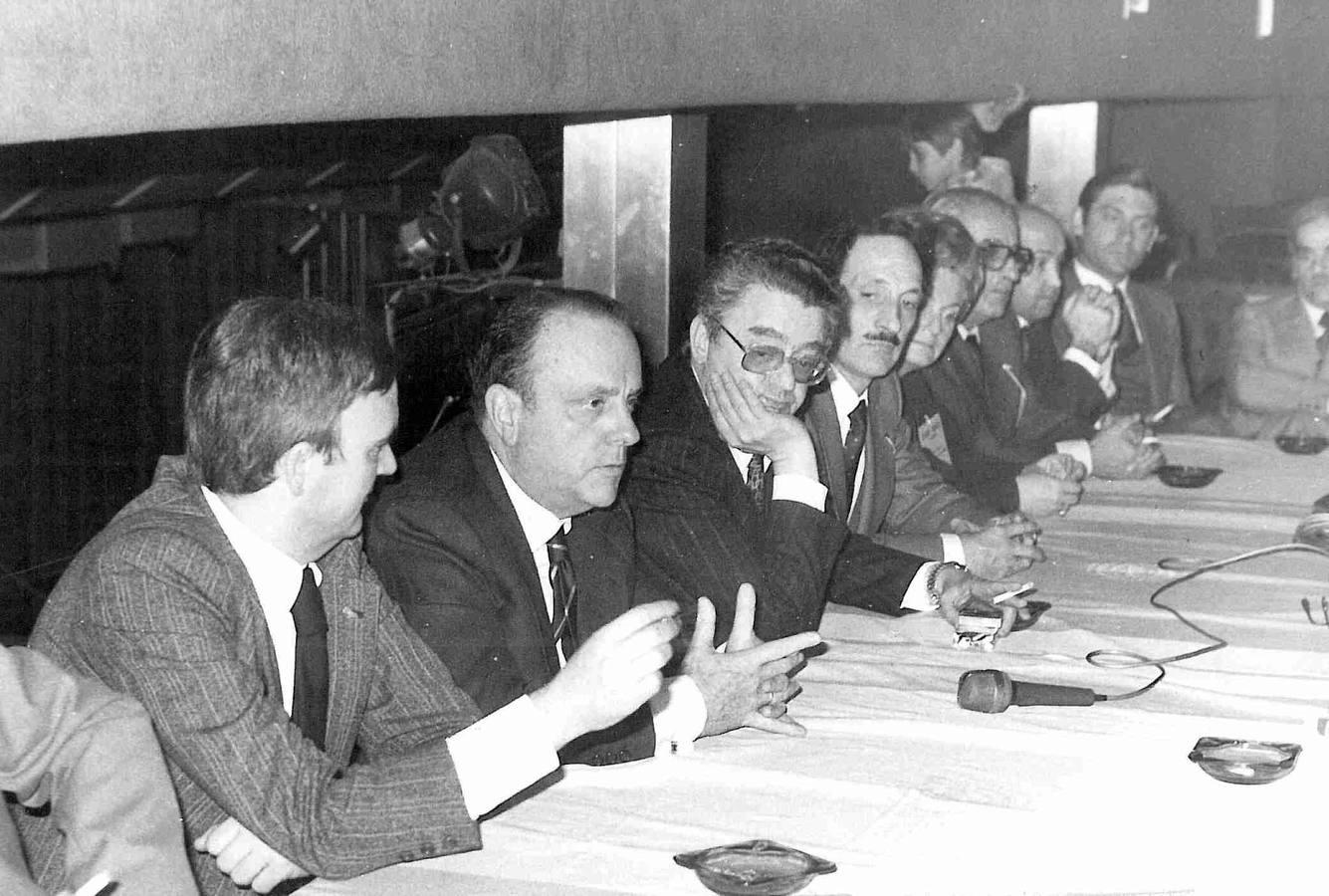 Alianza Popular nació en Valladolid en febrero de 1977. Crédito: web elnortedecastilla.es