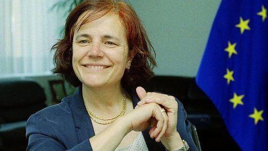 Loyola de Palacio, gran política española, diputada en el Parlameento Europeo. Crédito: web ab.es
