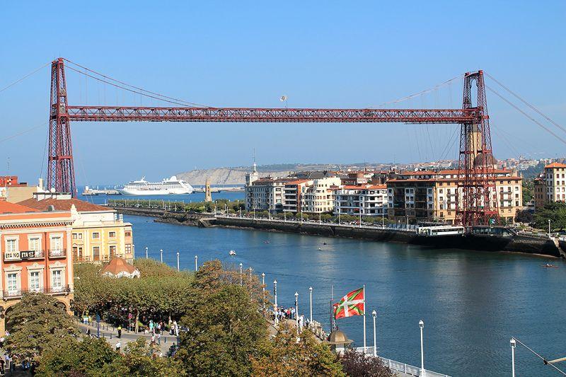 El puente de Portugalete es una obra de ingeniería brillante, inaugurado en julio de 1843. Crédito: web viajares.es