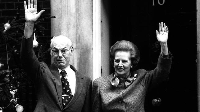 Margaret y Denis Thatcher. Crédito: web abc.com