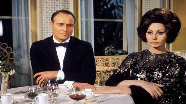 """Sofía Loren en """"La Condesa de Hong Kong"""". Crédito: web abc.es"""