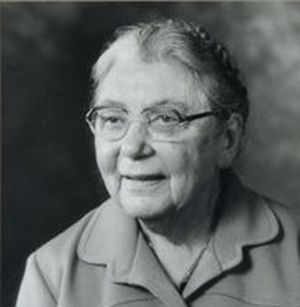 Elsie Widdowson la genial nutricionista británica. Crédito: web mujeresconciencia.com