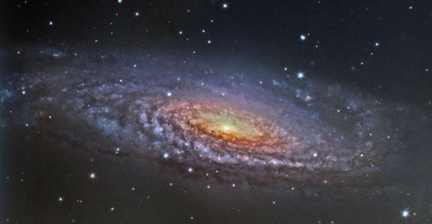 Galaxia NGC 7331. Imagen obtenida por el equipo de OSIRIS y tratada por Daniel López