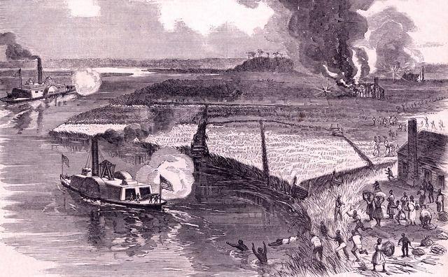 En la operación Combahee River la gran heroína fue Harriet Tubman. Crédito: web libcom.org/history