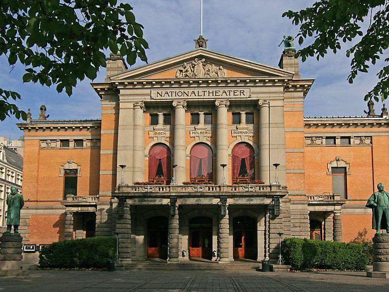 El Teatro Nacional de Oslo es uno de los lugares más importantes de Noruega para el desempeño de las artes dramáticas. Crédito: web travel.sygic.com