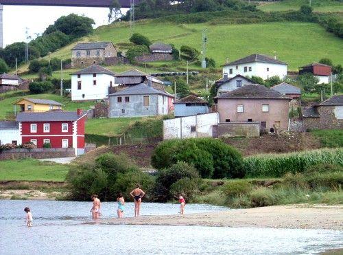Canero es un pueblito asturiano situado a 10 km de Luarca. Crédito: web todopueblos.com