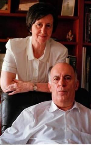 Eladio Viñueña, esposo de Margarita Salas, fue un brillante científico. Crédito: web extremenos.ilustres.es