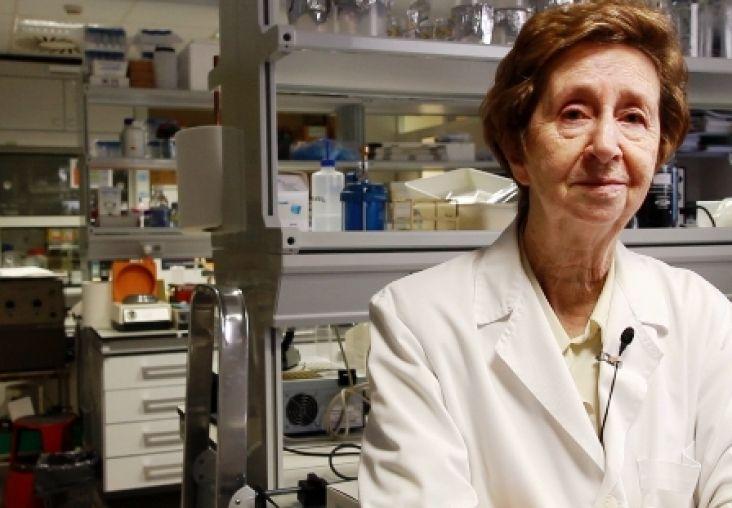 Margarita Salas dijo que no sabría vivir sin dedicarse a la ciencia. Crédito: web nuevaalcarria.com