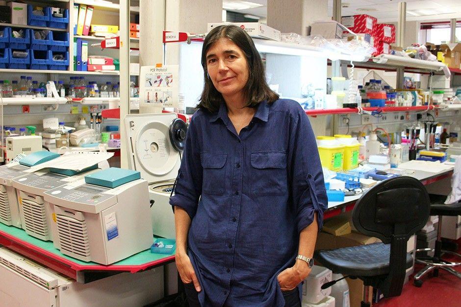 La doctora María Blasco, investigadora incansable en su afán de que nos mantengamos jóvenes sanosdurante muchos años. Crédito: web encuentroseleusinos.com