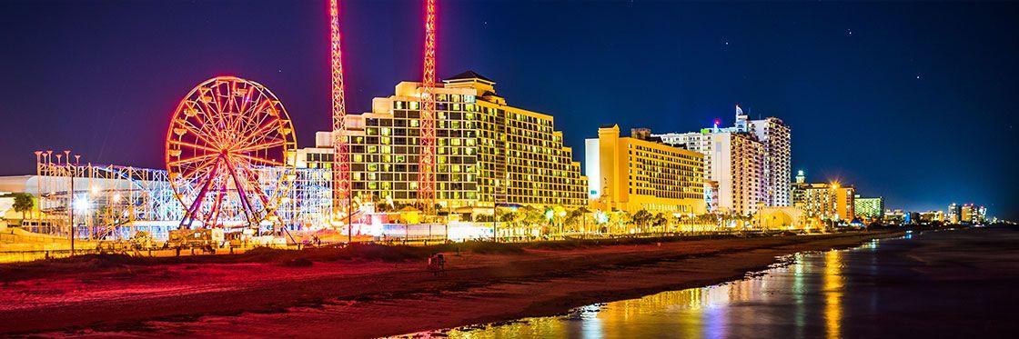 Atlantic City está situada en la costa de Nueva Jersey. Crédito: web nuevayork.net