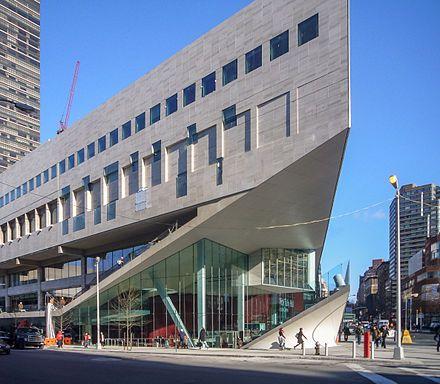 La prestigiosa Escuela de Música Juilliard, situada en el Lincoln Center, en Nueva York. Crédito: Wikipedia.