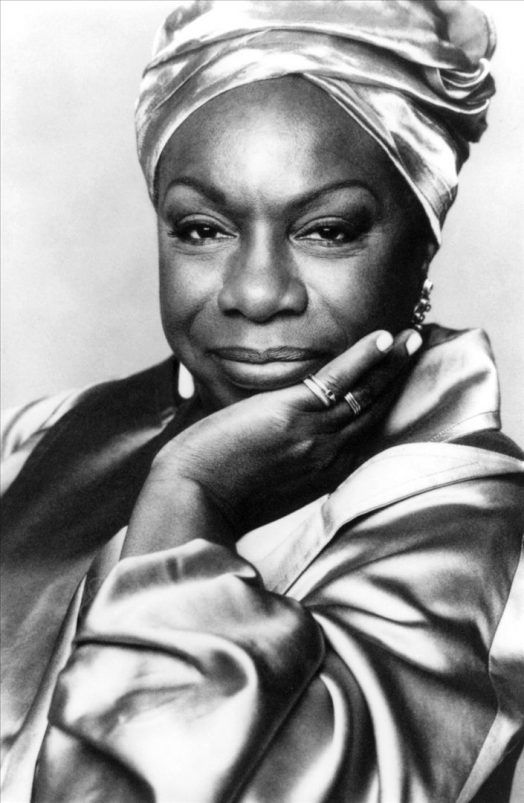 Nina Simone, genial cantante americana. Crédito: web legacyrecordings.com