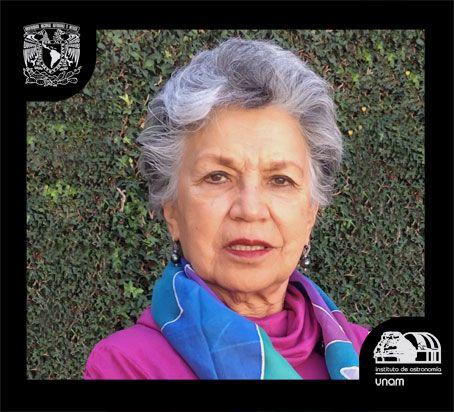 Silvia Torres Castilleja fue la primera mujer mexicana que obtuvo un doctorado en astronomía. Crédito: web astroscu.unam.mx