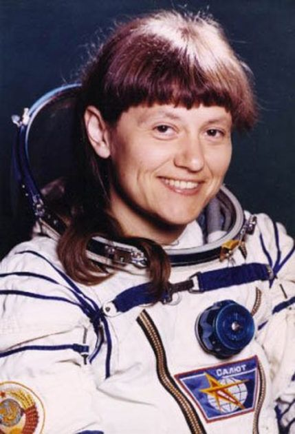 Svetlana Saviskaya siempre quiso viajar al espacio. Crédito: web colombiainforma.info