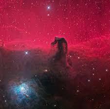 "La nebulosa ""Cabeza de Caballo"" fotografiada por el telescopio espacial Hubble. Crédito: Wikipedia."