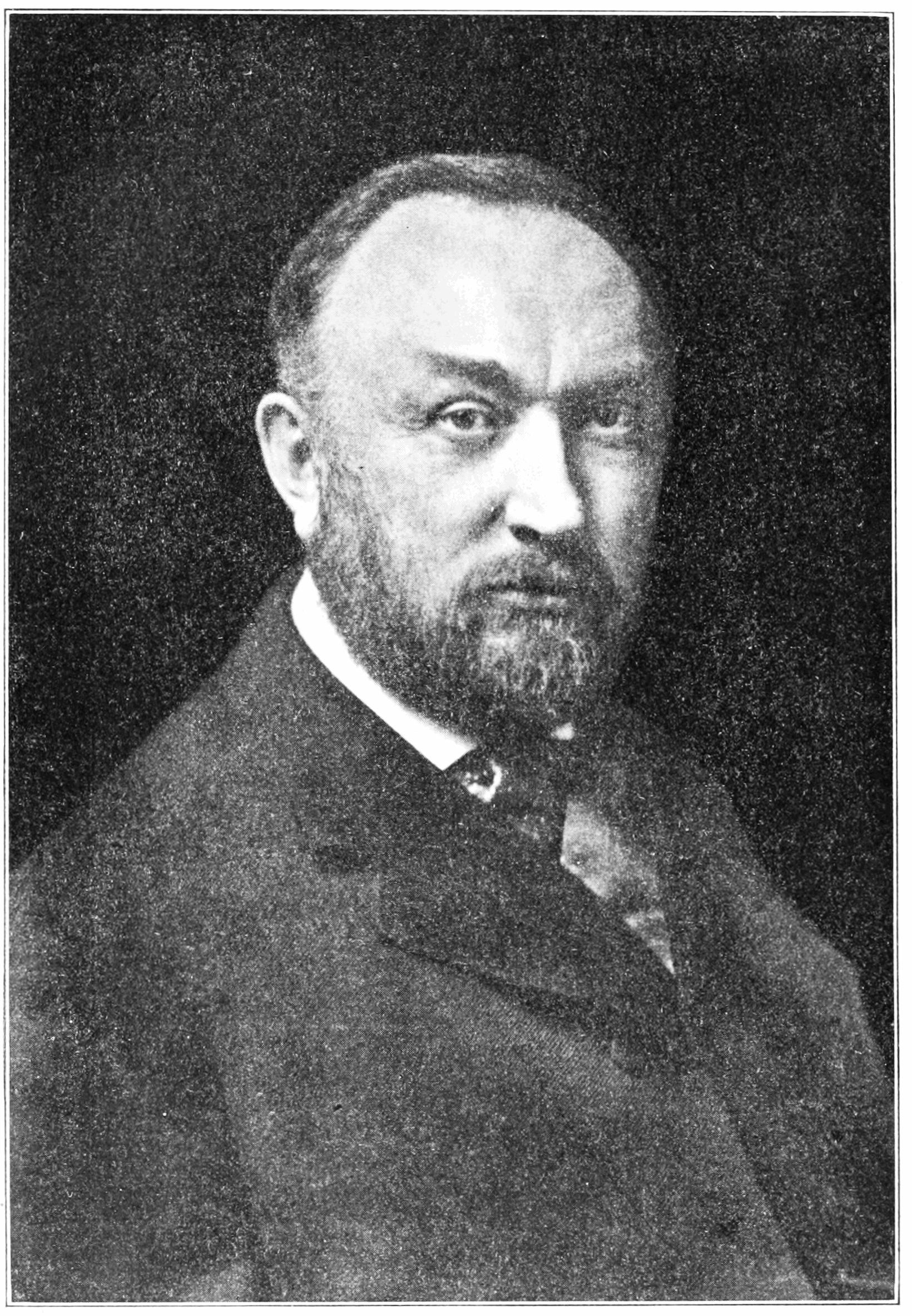 Edward Charles Pickering astrónomo, descubridor de estrellas y de la valía de las mujeres. Crédito: Popular Science Monthly.