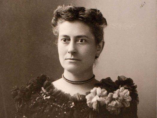 Williamina Fleming tenía un rostro atractivo, con ojos brillantes y vivos. Irradiaba vitalidad. Crédito: web harvardmagazine.com