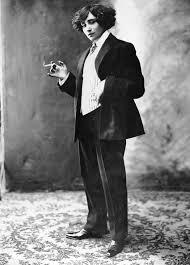 Aurore Dupin disfrazada de hombre. Crédito: web radioenciclopedia.cu