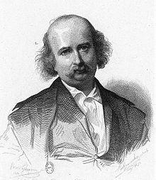 Jules Sandeau, novelista francés nacido en 1811. Crédito: web es.wikipedia.org