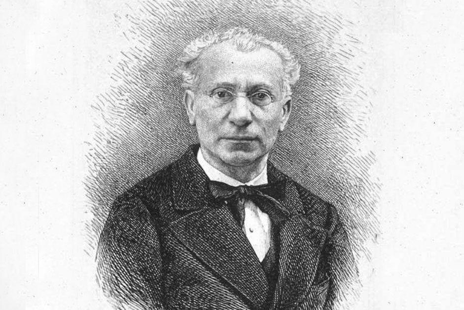 Retrato en 1891, de Manuel Cañete, escritor y académico de la Real Academia de la Historia. Crédito: web dbe.rah.es