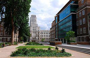 El Birkbeck College es una universidad pública de investigación, ubicada en el barrio de Bloomsbury, en Londres. Crédito: en.wikipedia.org