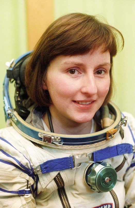 Helen Sharman viajó al espacio como astronauta a los 28 años. Crédito: web amsat-uk.org