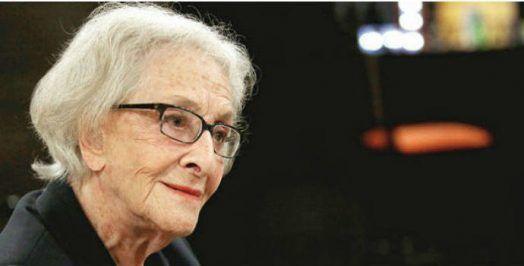 Ida Vitale poetisa uruguaya, mujer maravillosamente excepcional. Crédito: web eldigitalcastillalamancha.es