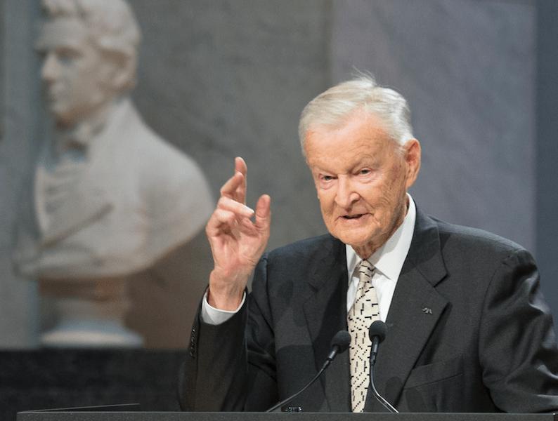Zbigniew Brzezinski uno de los hombres clave en la política internacional de USA. Crédito: web publimetro.cl