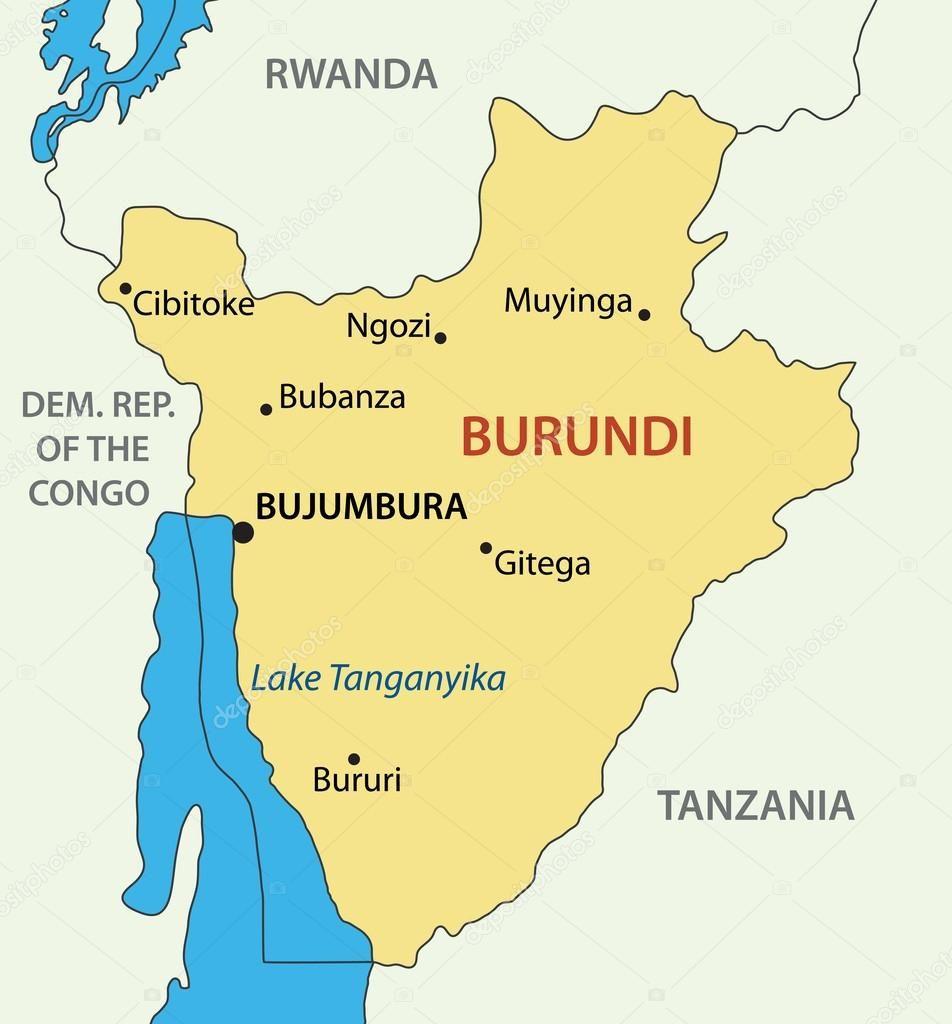 Burundi es un pequeñísimo país que alberga unos 10 millones de habitantes. Se independizó de Bélgica en el año 1962. Crédito: web sp.depositphotos.com