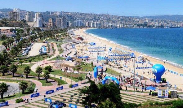 Viña del Mar es una de las más ciudades más hermosas de Chile. Crédito: web vinadelmarchile.cl