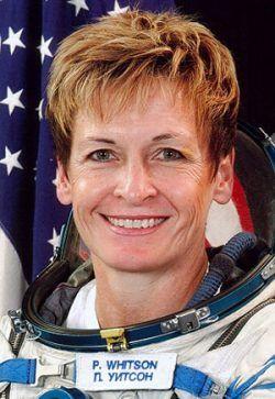 Peggy Whitson es un modelo fenomenal para las mujeres jóvenes. Crédito: web radioiowa.com