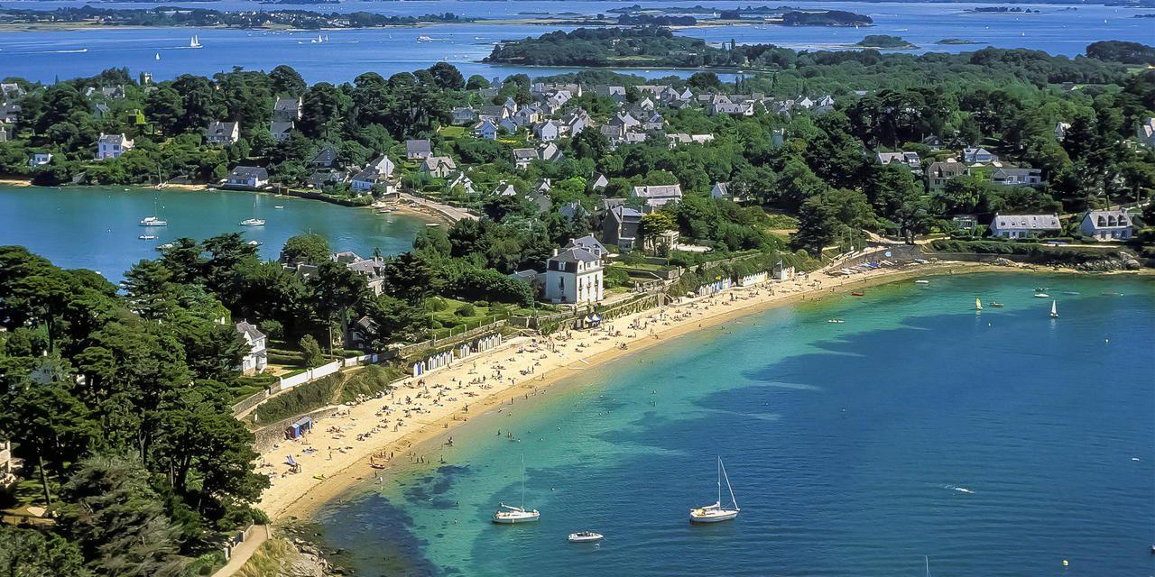 Belle-Île-en-Mer es una isla francesa situada en la costa atlántica de la región de la Bretaña. Crédito: web airfrance.fr