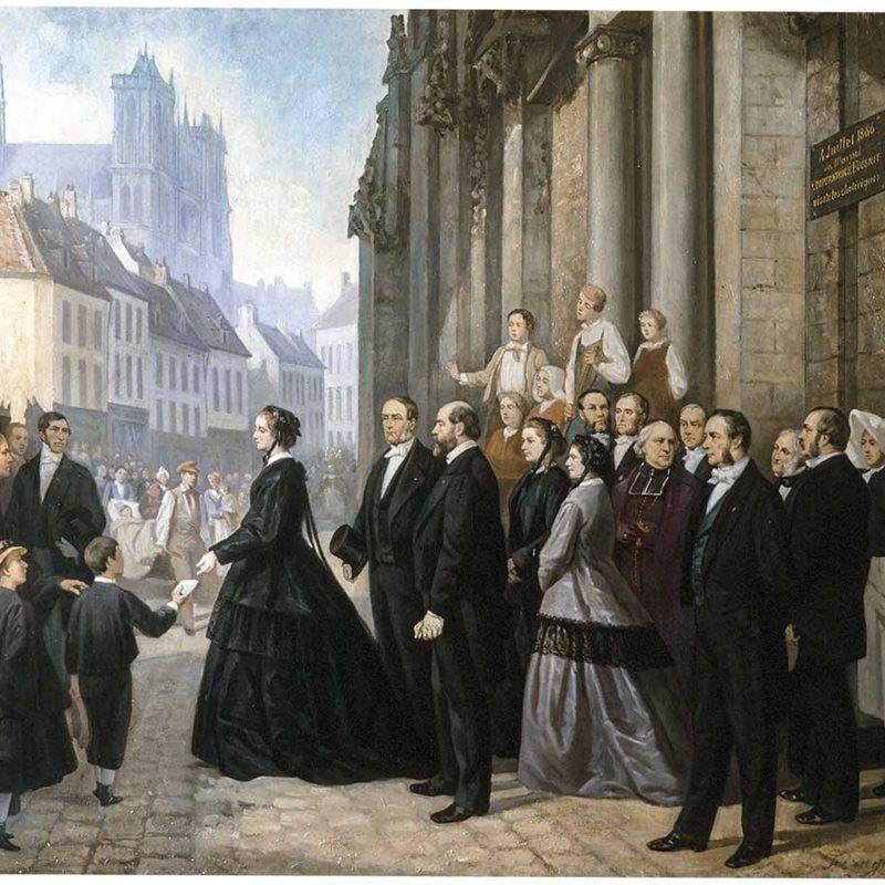 Eugenia de Montijo, la esposa española de Napoleón III vivió los fastos y el glamour del II Imperio francés. Crédito: nationalgeographic.com.es