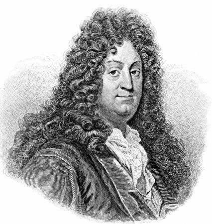 Racine (1639-1699), junto con Molière y Corneille es uno de los tres grandes dramaturgos franceses del siglo XVII. Crédito: web kids.britannica.com