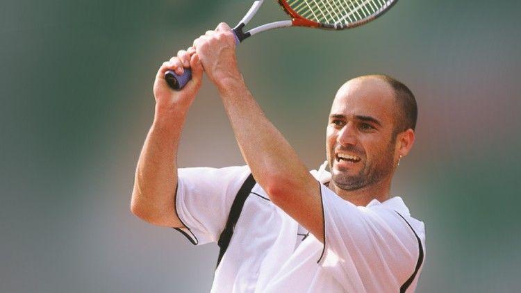 Andre Kirk Agassi, tenista estadounidense de origen armenio. Crédito: web udemy.com