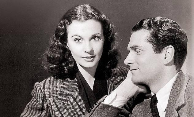 Vivien Leigh y Laurence Olivier estuvieron casados 20 años. Crédito: web eluniverso.com/entretenimiento